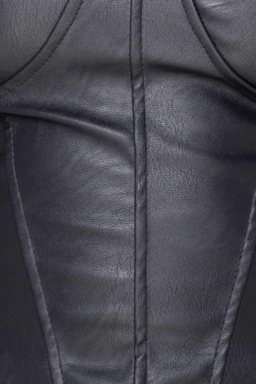 Corset Sheer Black Bogas