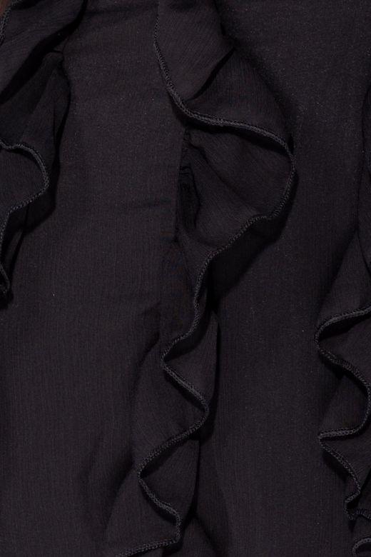 Rochie de Seara Ruffle Black Bogas