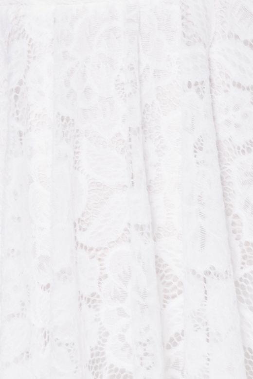 Rochie de Seara Asymmetric White Bogas