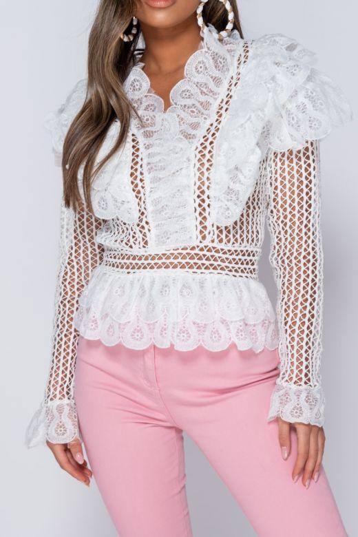 Bluza Trim White Bogas