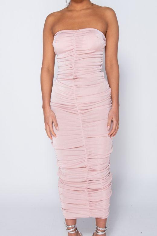 Rochie de Seara Slinky Pink Bogas