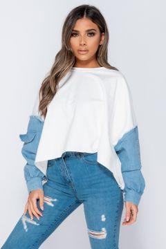 Bluza Sweatshirt White Bogas