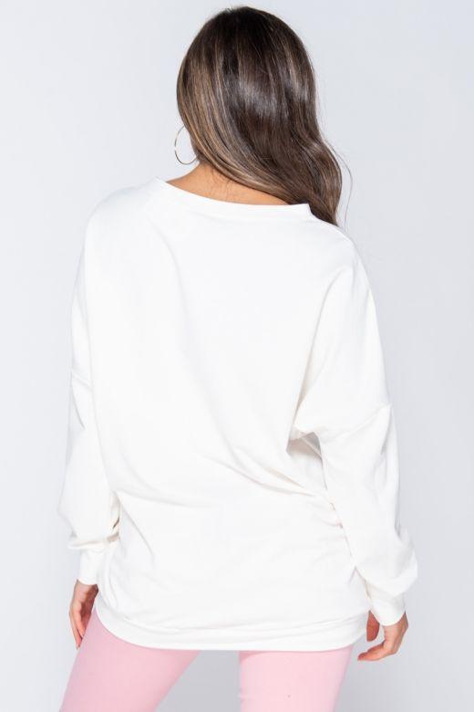 Bluza Coco White Bogas