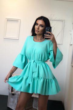 Rochie de Zi Yader Turquoise Bogas