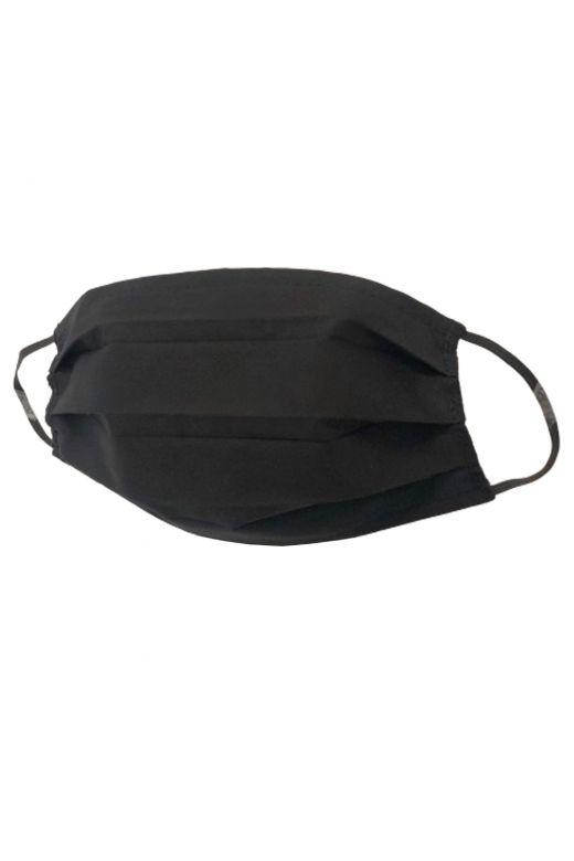 Masca Cotton Black Bogas