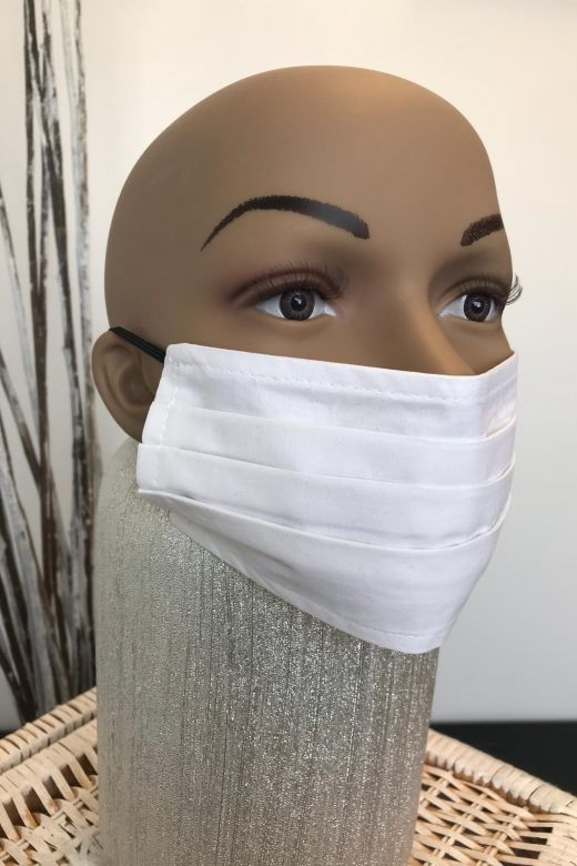 Masca Cotton White Bogas