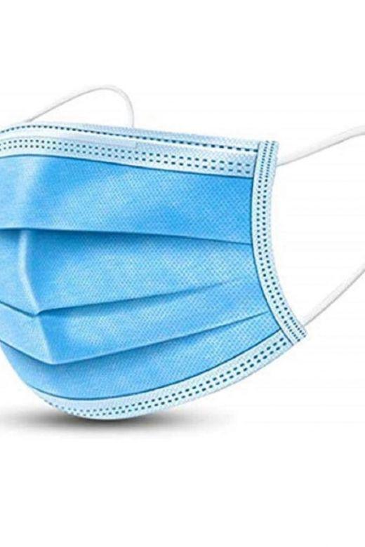 Set 50 Masti Protectie Blue Mask