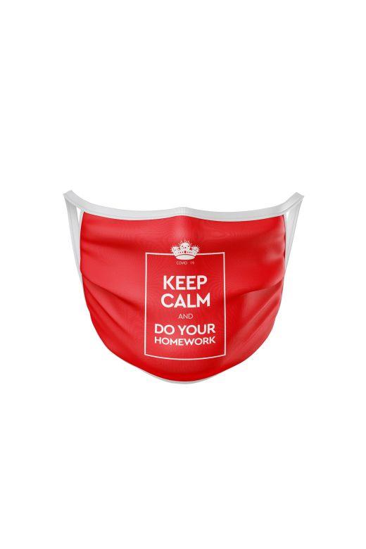 Masca Protectie Keep Calm Bogas