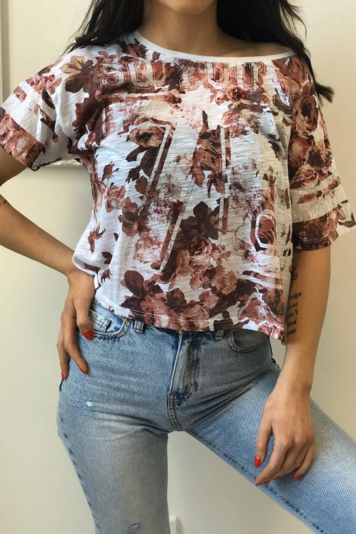 Tricou Donot Brown Bogas