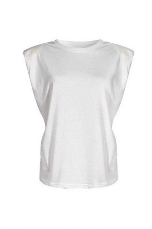 Tricou Shoulders White Bogas