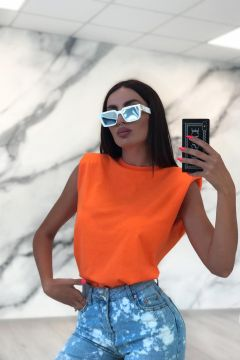 Tricou Shoulders Orange Bogas
