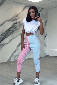 Pantaloni Partty Pink Bleu Bogas