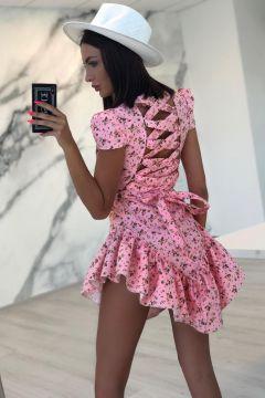 Rochie de Seara Ymrref Pink Bogas