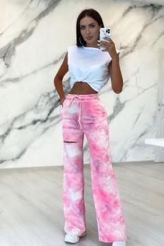 Pantaloni Polky Pink Bogas