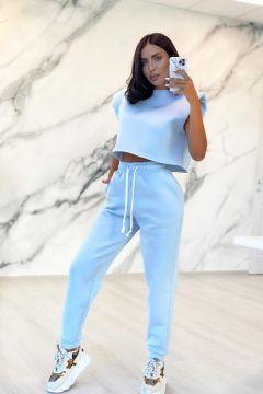 Pantaloni Fycus Bleu Bogas