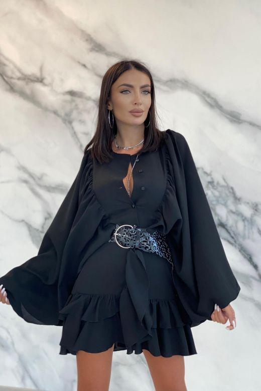 Rochie de Seara Pegg Black Bogas