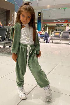 Compleu Junny Kids Khaki Bogas