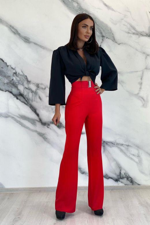 Pantaloni Reffy Red Bogas