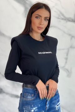 Bluza Icone Black Bogas