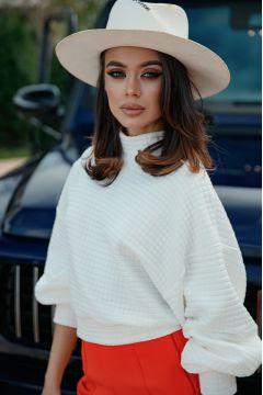 Bluza Dymma White Bogas